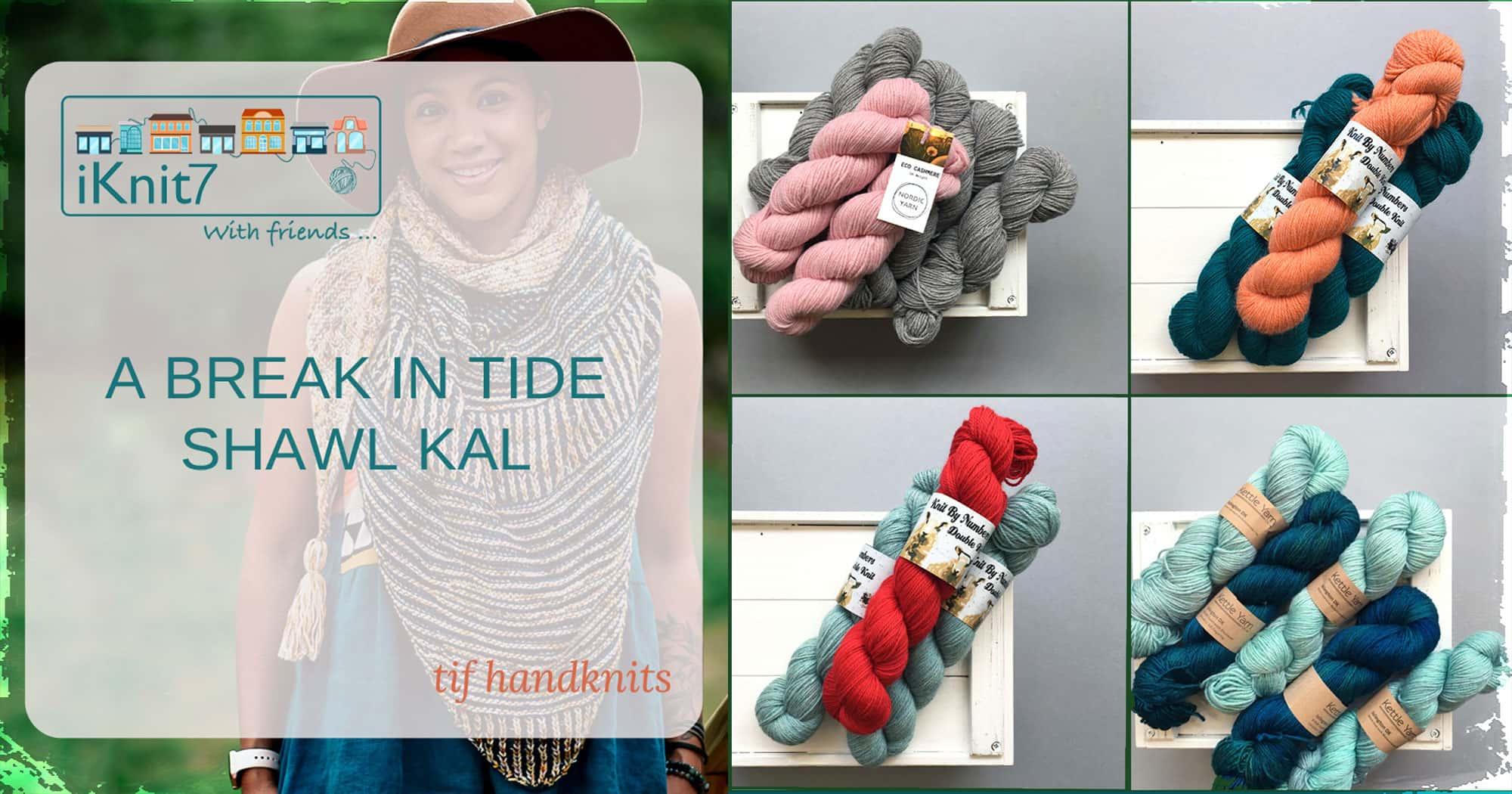 iKnit7 A Break in Tide KAL