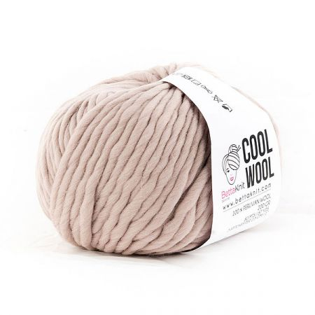 BettaKnit: Cool Wool – Beige