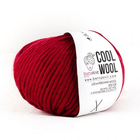 BettaKnit: Cool Wool – Bloody Red