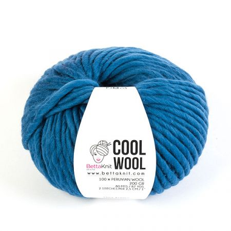 BettaKnit: Cool Wool – Classic Blue