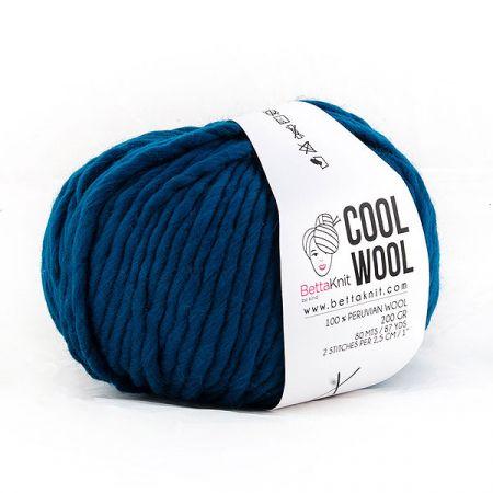 BettaKnit: Cool Wool – Deep Blue