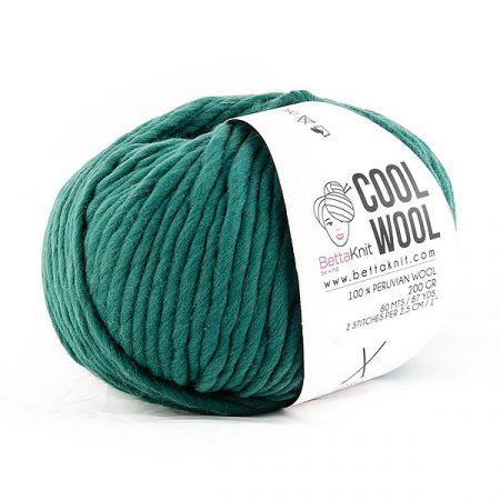 BettaKnit: Cool Wool – Forest Green