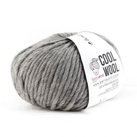BettaKnit: Cool Wool – Grey