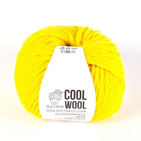 BettaKnit: Cool Wool – Lemon