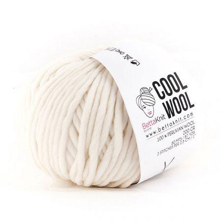 BettaKnit: Cool Wool – Milk