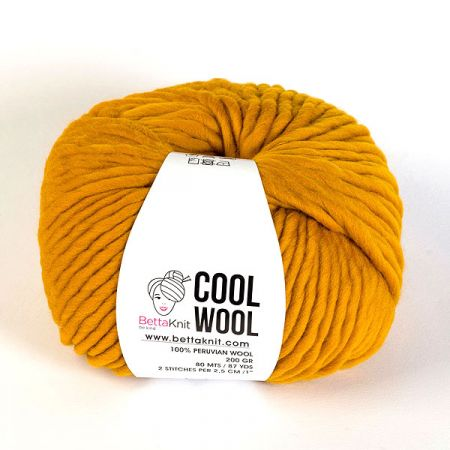 BettaKnit: Cool Wool – Mustard Yellow
