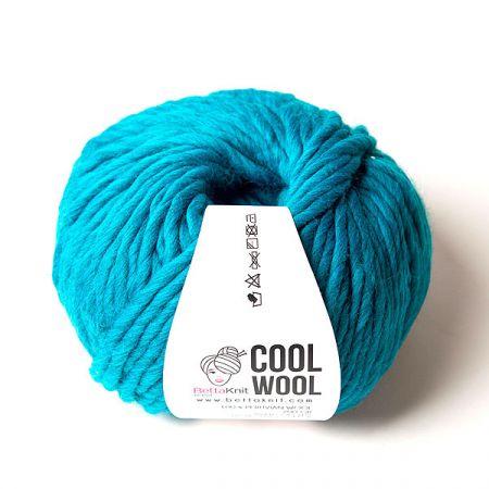 BettaKnit: Cool Wool – Peacock Blue