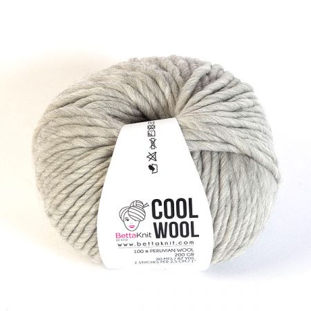 BettaKnit: Cool Wool – Stone Grey