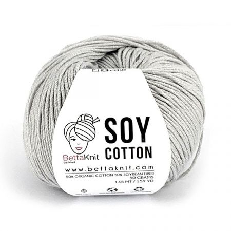 BettaKnit: Soy Cotton – Alluminium