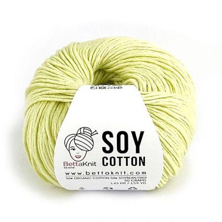 BettaKnit: Soy Cotton – Lemongrass