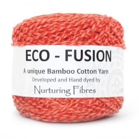 Nurturing Fibres: Eco-Fusion – Sunkissed Coral