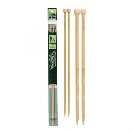 Clover: Takumi – Bamboo Straight Knitting Needles 10mm/UK000/US15