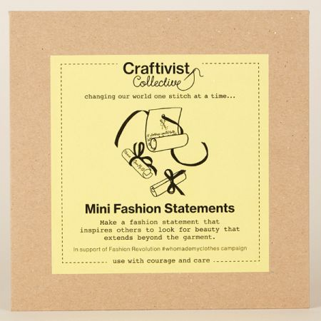 Craftivist Collective: Mini Fashion Statements Kit