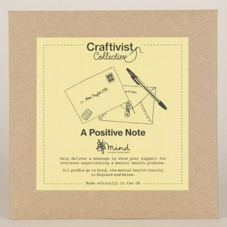 Craftivist Collective: A Positive Note Kit