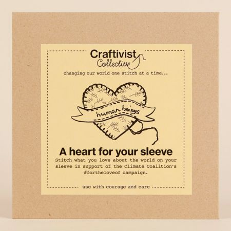 Craftivist Collective: A Heart for Your Sleeve Kit