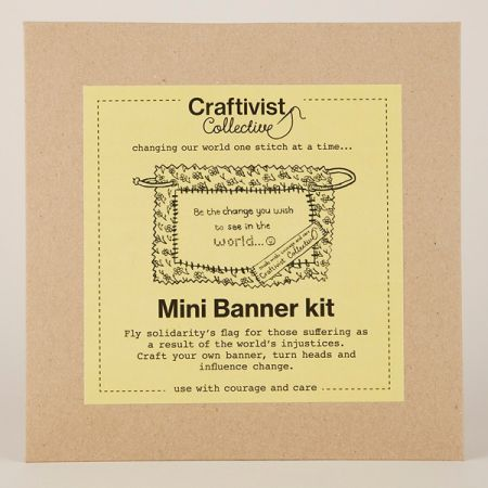 Craftivist Collective: Mini Banner Kit