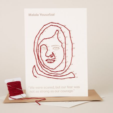 Craftivist Collective: Stitchable Change-maker – Malala Yousafzai