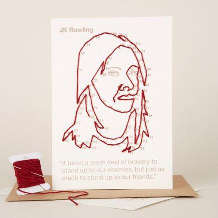 Craftivist Collective: Stitchable Change-maker – JK Rowling