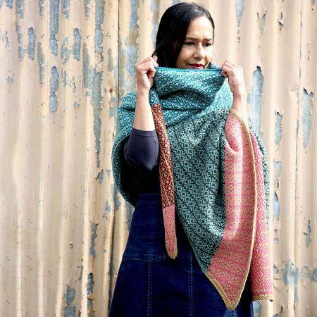 Knit with Attitude: Yarn Kit - Meadow Wrap - KAL with Dee Hardwicke