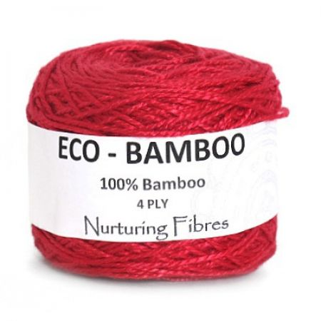 Nurturing Fibres: Eco-Bamboo – Ruby Pink