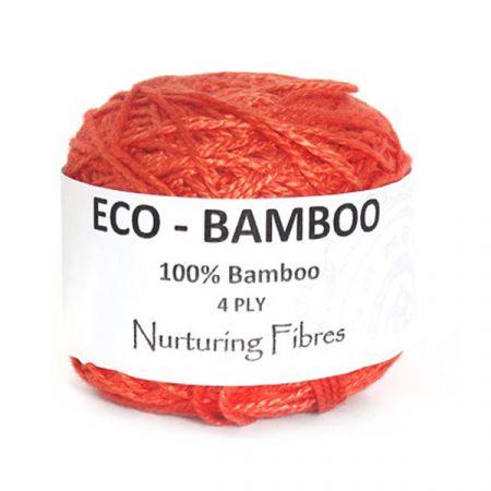 Nurturing Fibres: Eco-Bamboo – Sunkissed Coral