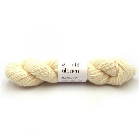 G-uld: Alpaca – Undyed White