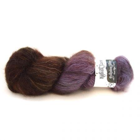 Hedgehog Fibres: Kidsilk Lace – Raven