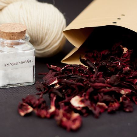 Hey Mama Wolf: Natural Dye Kit WO2 - Hibiscus Flowers