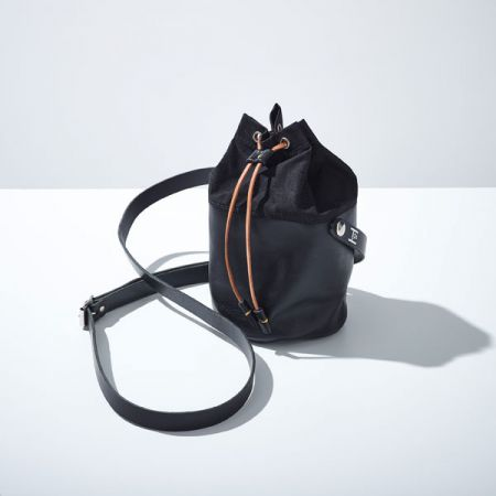Hide & Hammer: #07 Leather and Canvas Crossbody Bag