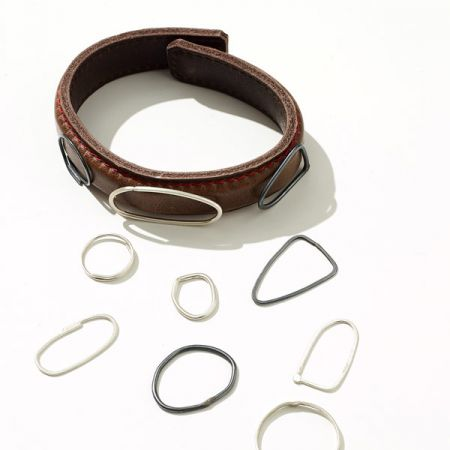 Hide & Hammer: Magnetic Leather Cuffs