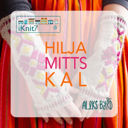 Knit with Attitude: iKnit7 Hilja Mitts KAL Kit