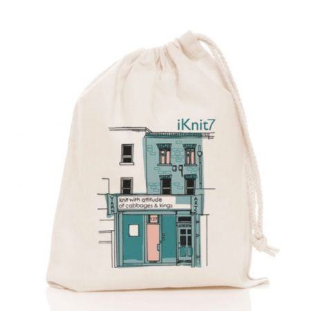 Knit with attitude: iKnit7 Knit with attitude Cotton Bag