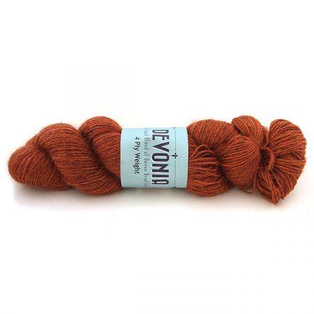 John Arbon Textiles: Devonia 4Ply – Amber Blaze
