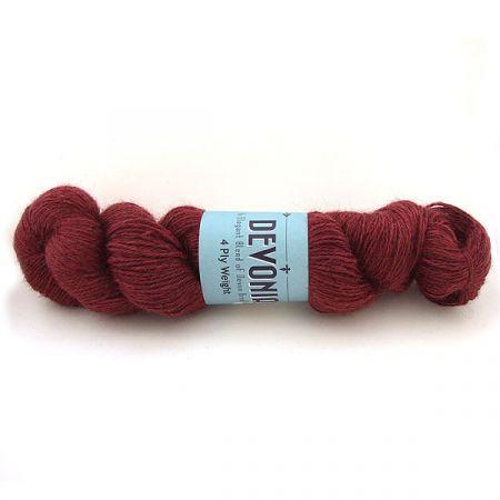 John Arbon Textiles: Devonia 4Ply – Bleeding Heart