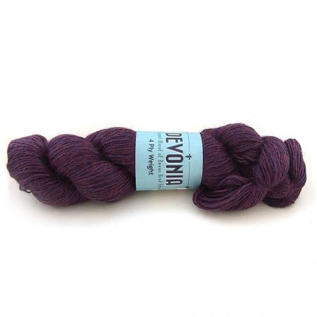 John Arbon Textiles: Devonia 4Ply – Nightshade