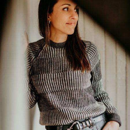 Knit with Attitude: Yarn Kit - Newspaper by Joji Locatelli