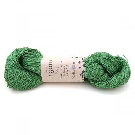 Växbo Lin: Lingarn 12/2 – Leaf Green