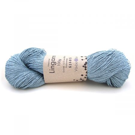 Växbo Lin: Lingarn 12/2 – Light Blue