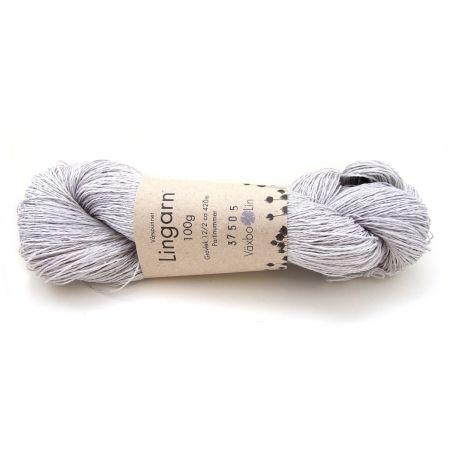 Växbo Lin: Lingarn 12/2 – Silver Grey