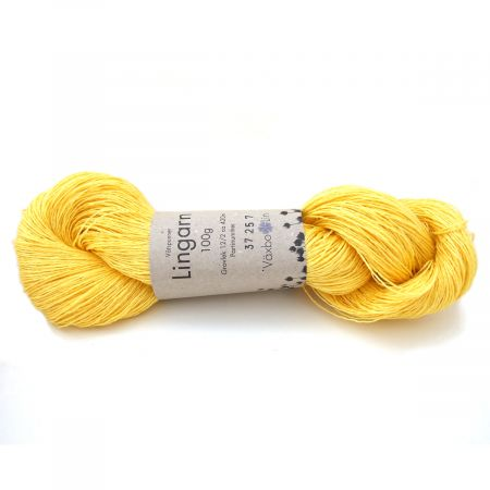 Växbo Lin: Lingarn 12/2 – Yellow