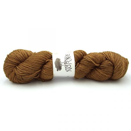 Norne Yarn: BFL / Silk / Cashmere Fingering - Dragon Gold