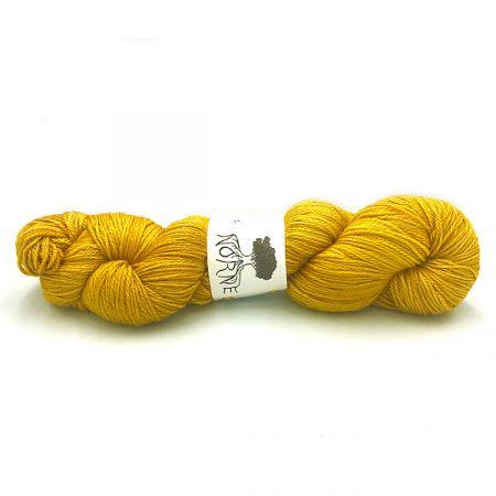 Norne Yarn: BFL / Silk / Cashmere Fingering - Gullinbuste