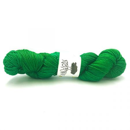 Norne Yarn: BFL / Silk / Cashmere Fingering - Yggdrasil