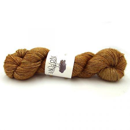 Norne Yarn: Merino / Silk / Yak DK - Irish Gold