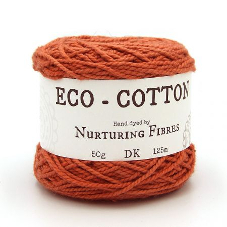 Nurturing Fibres: Eco-Cotton – Persian Red