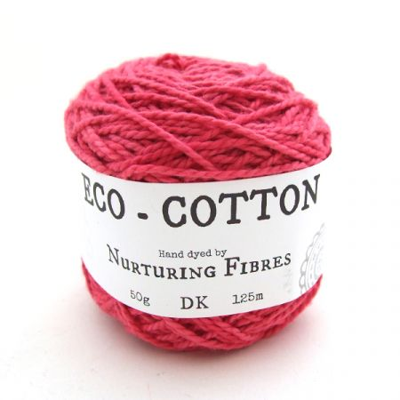 Nurturing Fibres: Eco-Cotton – Ruby Pink