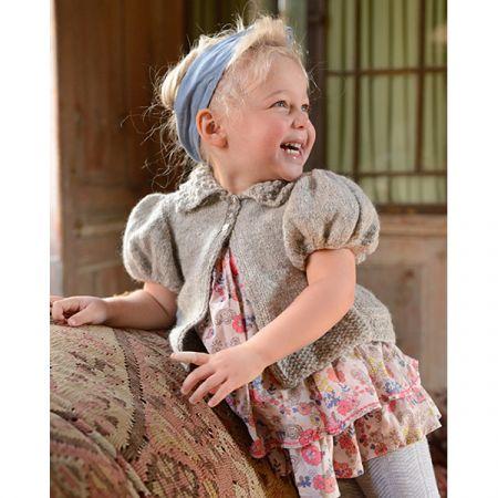 The Beauty Cardigan Child by Kari-Helene Rane