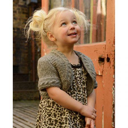 Purl Alpaca Designs: The Bonnie Bolero Child