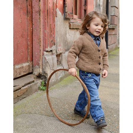 Purl Alpaca Designs: The Drambuie Cardigan Child