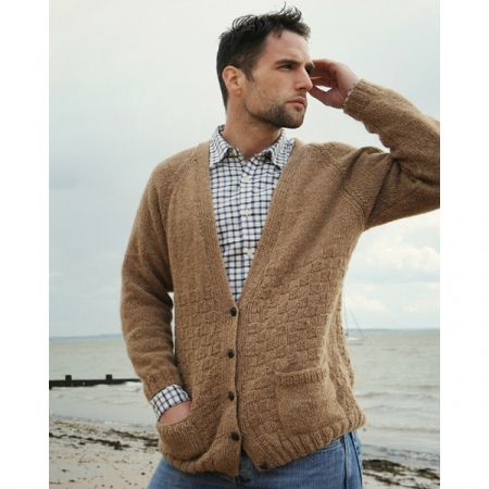 Purl Alpaca Designs: The Drambuie Cardigan (unisex)